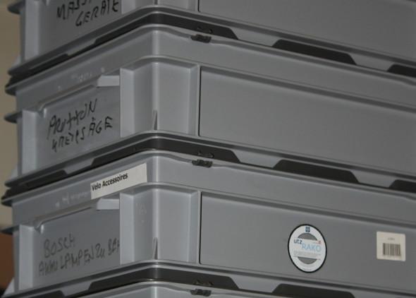 Industrie Behälter - (Ordnung, aufräumen)