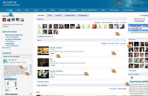 - (Internet, Chat, Webcam)