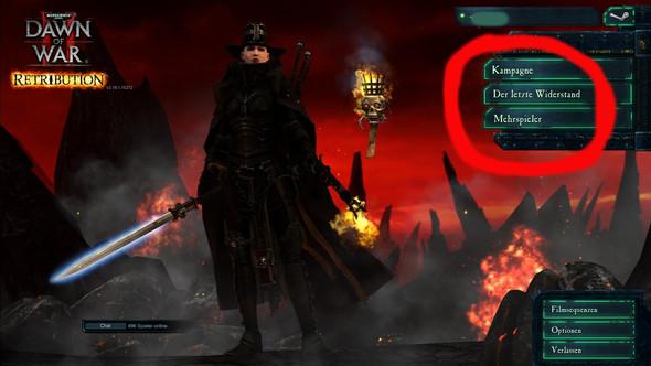 - (PC-Spiele, dawn of war)