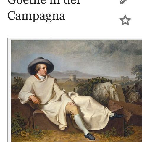 Goethe in der Campagna - (Goethe, Dichter, deutschreferat)