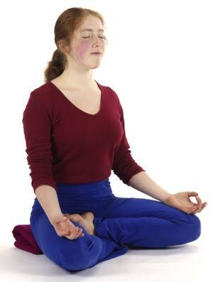 Meditation kreuzbeinig - (Gesundheit, Fitness, Meditation)