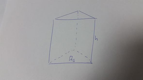 wie soll ich den umfang eines prismas berechnen? (Mathe, Prisma)