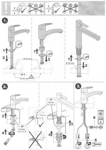 kludi einhandmischer auseinander bauen technik k che heimwerken. Black Bedroom Furniture Sets. Home Design Ideas