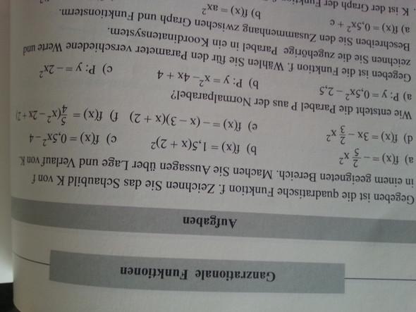 nur zeichnen oder auch rechnen - (Schule, Mathe)