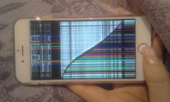 - (iPhone, Reparatur, kaputt)