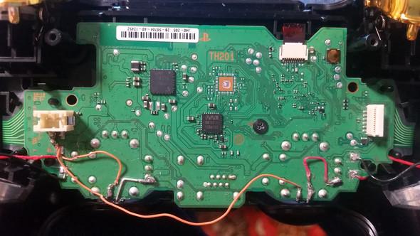 So sieht die Platine aus - (Technik, PS4, Controller)