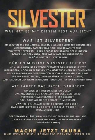 - (Religion, Islam, Silvester)