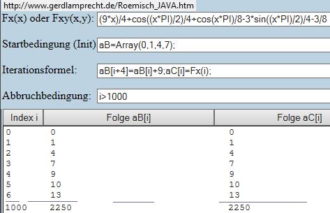 Iterationsrechner rekursiv und explizit - (Mathematik, Zahlenfolgen)
