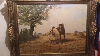 Gemälde - (Holland, Maler, Schiff)