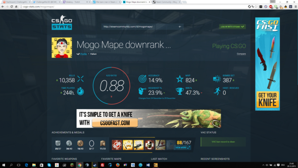 http://csgo-stats.com/ (ignoriere die anderen Tabs) - (Bilder, Steam, Profil)