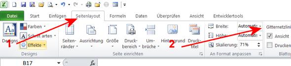Breite - (Computer, PC, Excel)