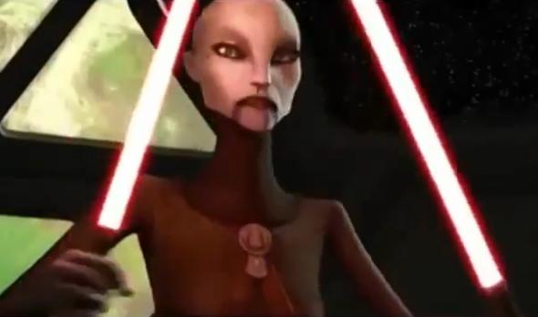 Ventress - (Star Wars, Schurke, The Clone Wars)