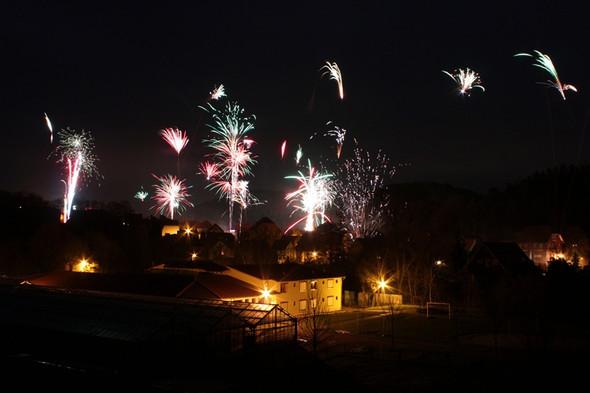 Feuerwerk 30 Sekunden - (Kamera, Fotografie)