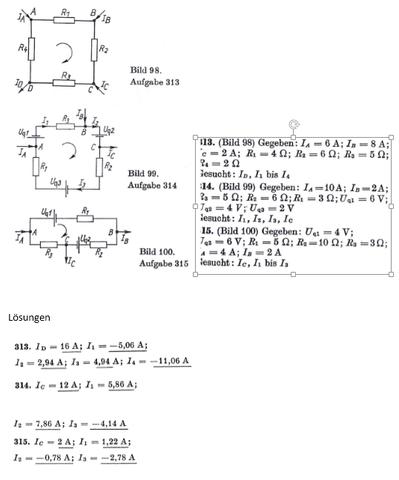 - (Mathematik, Elektronik, Elektrotechnik)