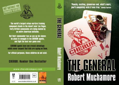 CHERUB: The General - (Buch, Kino)