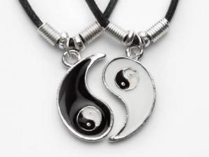 Yin Yang Kette! - (Geschenk, Geburtstag)