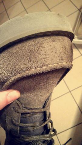 hier nochmal ein Foto  - (Schuhe, Leder)