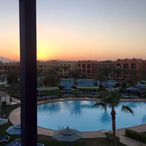 Auf dem Balkon - (Reise, Ägypten, günstige Pauschalreisen )