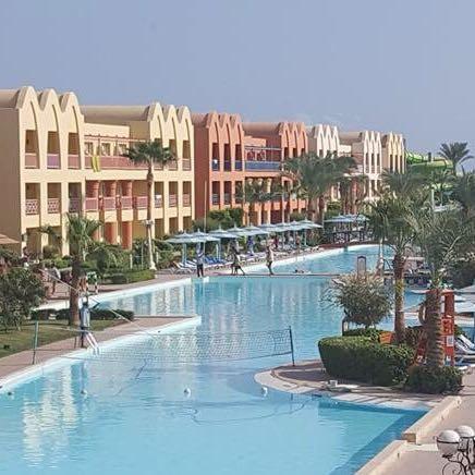 Teil der Pool Anlage  - (Urlaub, Hotel, Ägypten)