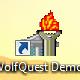 Da kommt dann dieses Icon auf dem Desktop