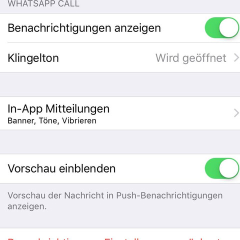 """""""Vorschau einblenden"""" aus machen - (Handy, iPhone, Apple)"""