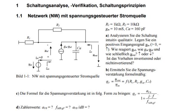 - (Elektronik, Universität, Rechnung)