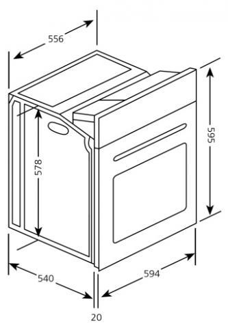 was ist der unterschied zwischen einen einbauher und einen standherd k che herde. Black Bedroom Furniture Sets. Home Design Ideas