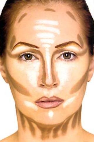 - (Produkte, Makeup, foundation)