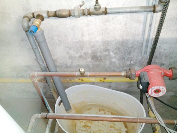 Meine Heizung verliert Wasser, obwohl das Sicherheitsventil ...
