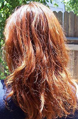 Henna auf blondem Haar - (Haare, Beauty, Henna)