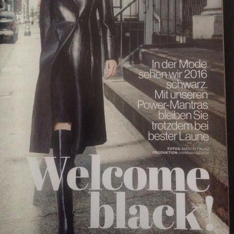 Vom Magazin Jolie. - (Mode, Trend)