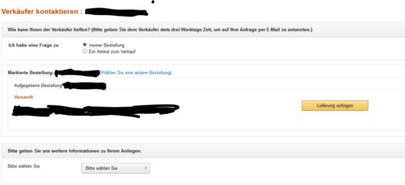 Bild 2 - (Amazon, Paket, Bestellung)
