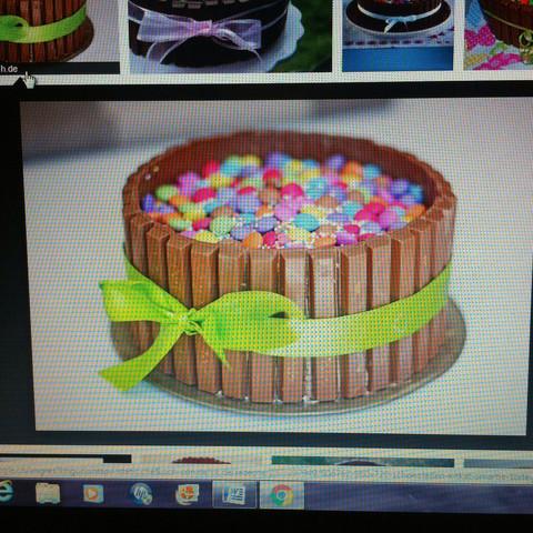 Kit Kat Kuchen mit Smarties - (Freundin, backen, Kuchen)