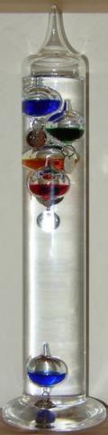 - (Thermometer, Galilei)