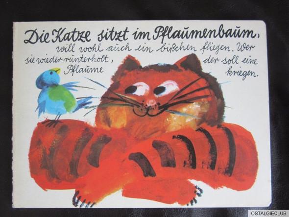 Die Katze  - (alt, Kinderbuch)