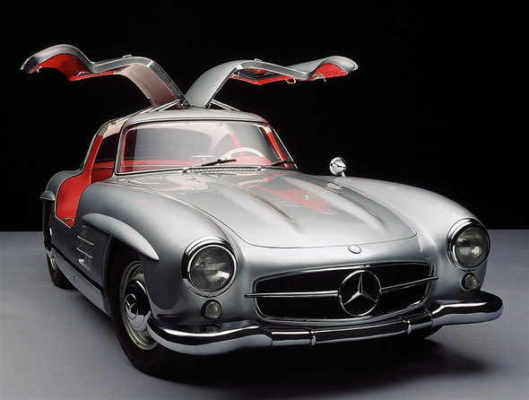 "Mercedes-Benz 300 SL Coupé (W 198 ""Flügeltürer"") - (Auto, Code, Mercedes Benz)"