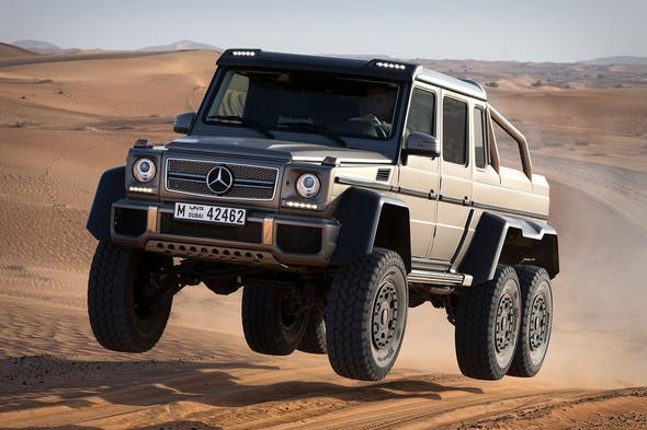 Mercedes-Benz G 63 AMG 6x6 (W 463) - (Auto, Code, Mercedes Benz)
