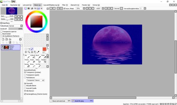 Bild 2 - (Paint tool sai, digitales zeichnen)