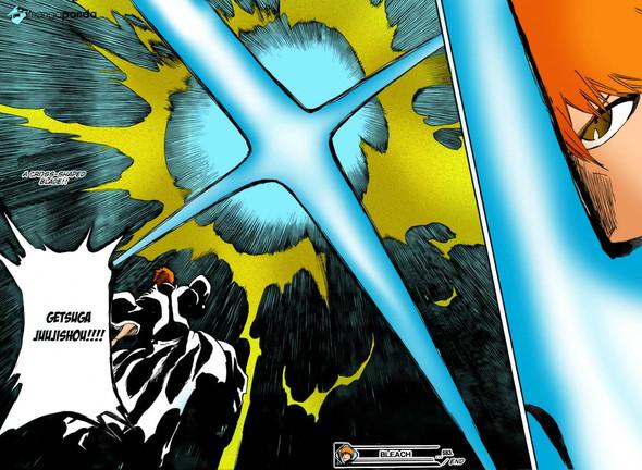 Ichigos angriff, eine große explosion - (Anime, Charakter)