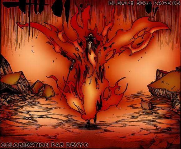 Yamamotos undurchdringliche Flammenrüstung - (Anime, Charakter)