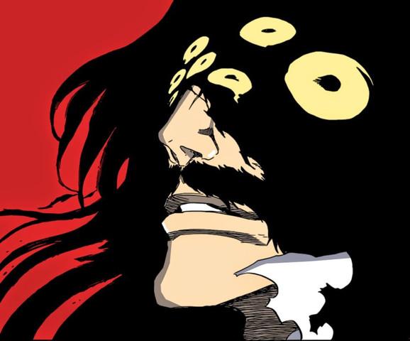 Juhabach in seiner Gestalt als Gott - (Anime, Charakter)