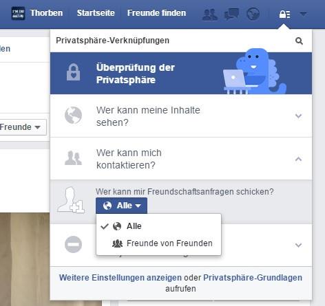 - (Facebook, Anfrage)