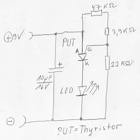LED Blitzer - (Technik, Elektronik, LED)