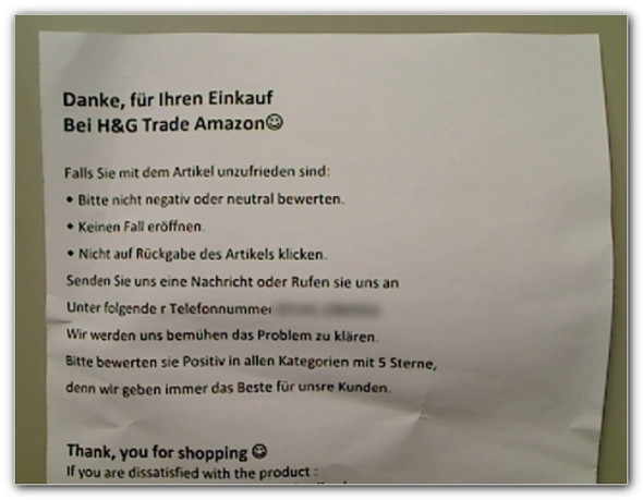 Beipackzettel - (Amazon, Preis, Bestellung)