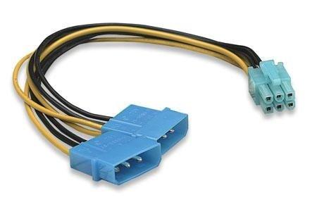 PCIe 6 Pin Adapter (von 6 Pol) - (Computer, PC, Grafikkarte)