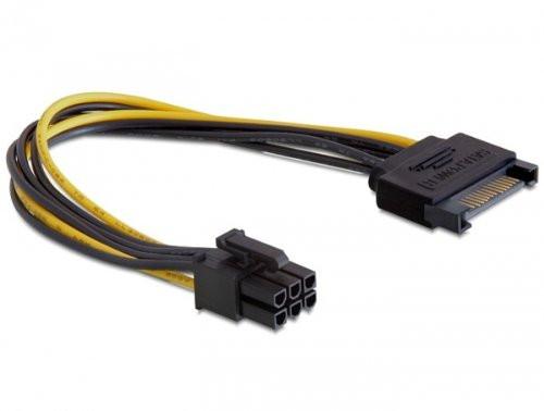 PCIe 6 Pin Adapter (von SATA) - (Computer, PC, Grafikkarte)