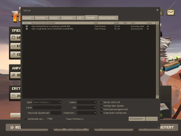 Serverbrowser - (PC, Games, Team Fortress 2)