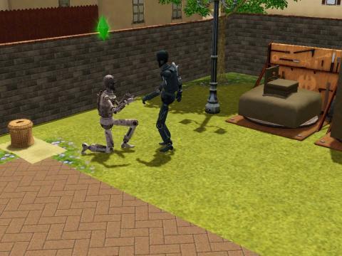 Simbot  Heiratsantrag - (Sims 3, Sims, Die Sims)