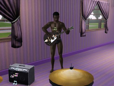 Vampir beim jammen - (Sims 3, Sims, Die Sims)