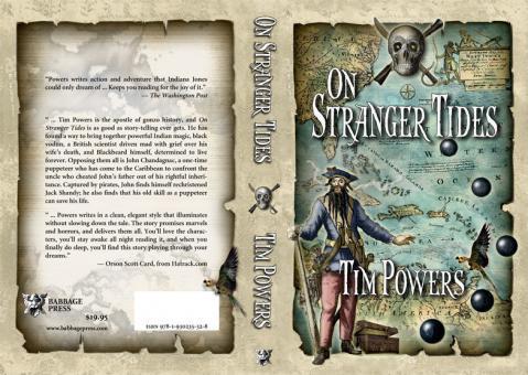 """""""On Stranger Tides"""" von Tim Powers - (Film, Buch, Fluch der Karibik)"""